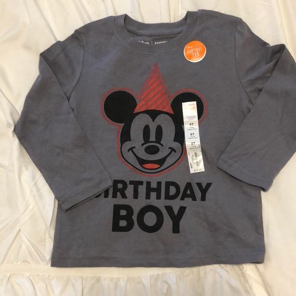 aa17833db Disney Shirts & Tops | Mickey Mouse Birthday Boy Shirt | Poshmark